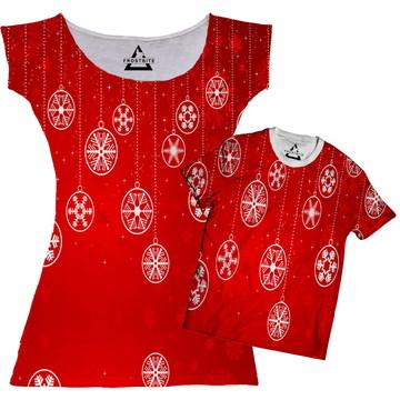Vestido ou Camiseta Natalino de Natal