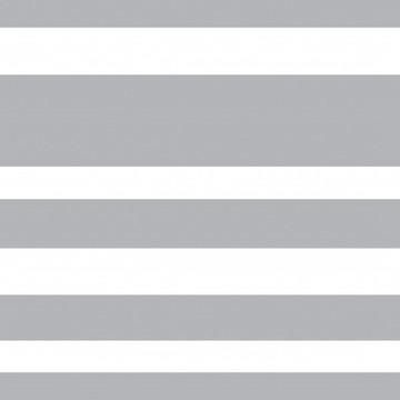 Papel de Parede Listrado Cinza e Branco Neutro