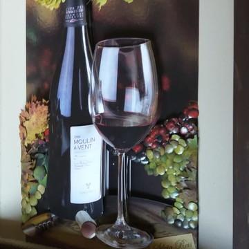 Bandeja Vinho (arte francesa)