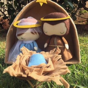 Sagrada Família em feltro