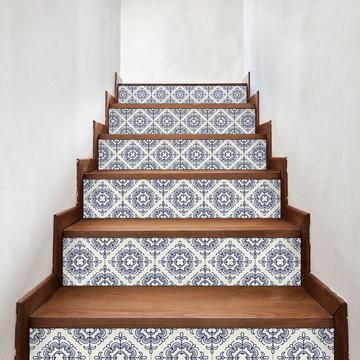 Adesivo de Azulejo Português Minimalista