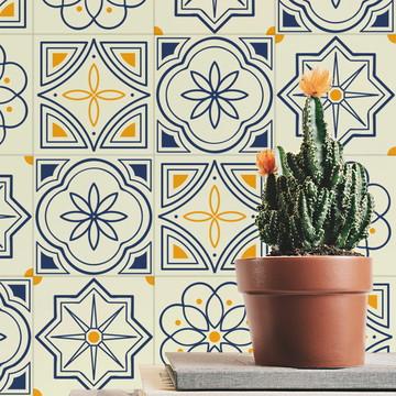 Adesivo de Azulejo Português Delicado
