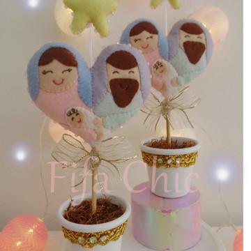 Sagrada Família decoração de natal