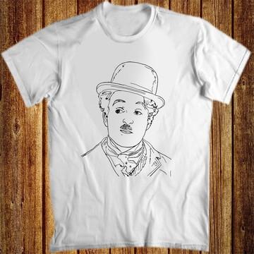 Camiseta anime charlie chaplin