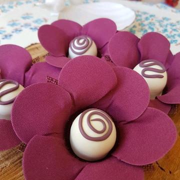 Forminhas para doces Camélia Marsala