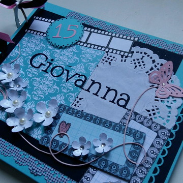 Álbum Scrapbook 15 Anos Tiffany