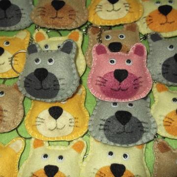 chaveiro gatinho, chaveiro gato lembrancinha gato