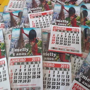 imãs com calendario 2019