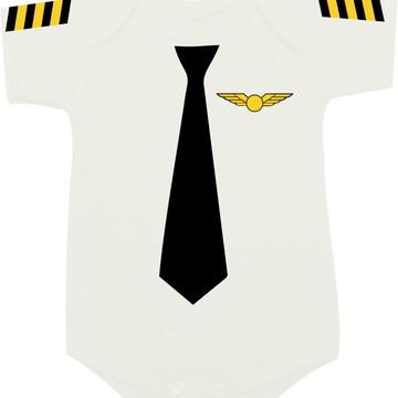 Body Comandante / Piloto - Profissões