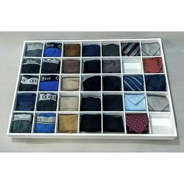 Organizador de gavetas sob medida - valor para 40x50x6cm