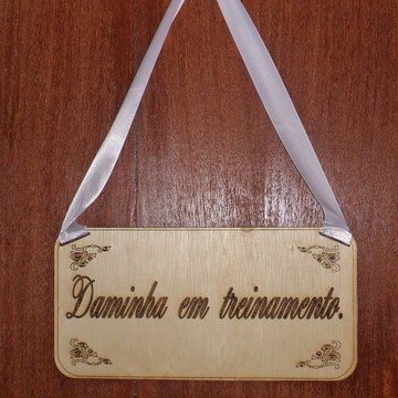 PLAQUINHA CASAMENTO