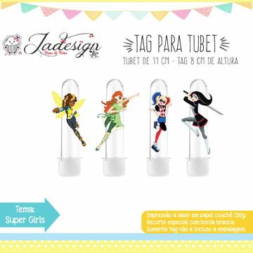 TAG PARA TUBET - SUPER GIRLS