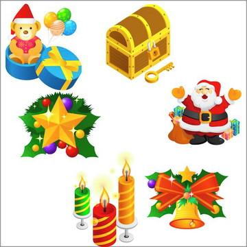 Vetores Natal CDR, EPS, Ai e PNG (33 Vetores CDR)