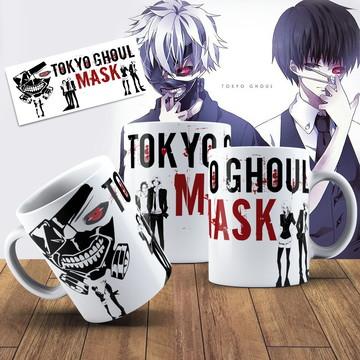 Caneca Tokio Ghoul Mangá Personalizada Caneca Anime Geek