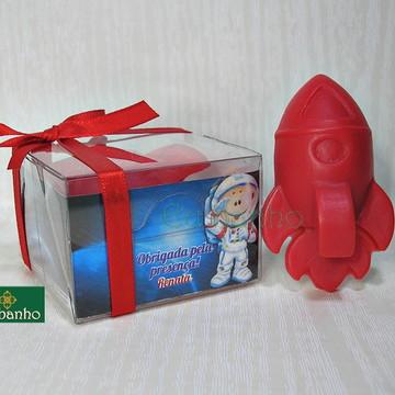 Sabonete Foguete Astronauta Lembrancinha