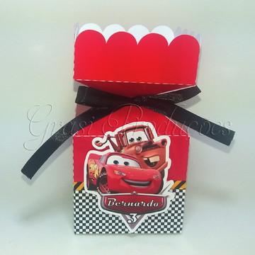 Caixa Bala Carros da Disney