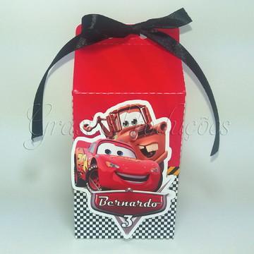Caixa Milk Carros da Disney