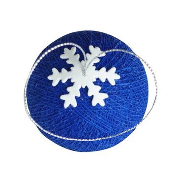 Bola de natal Azul Safira