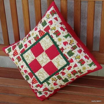 Capa almofada vermelha presentes