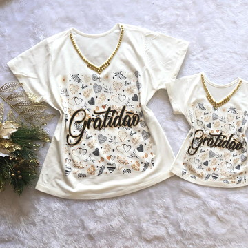 Blusas Tal mãe Tal filha 2019