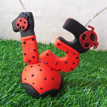 Vela Simples LadyBug