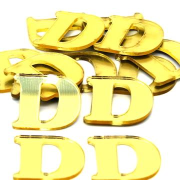 Letras ou números com 6 cm
