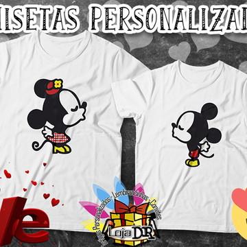 Camisetas Casal Disney