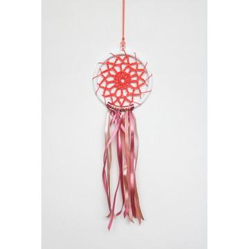 Móbile Decorativo em Crochê 1 | Coral