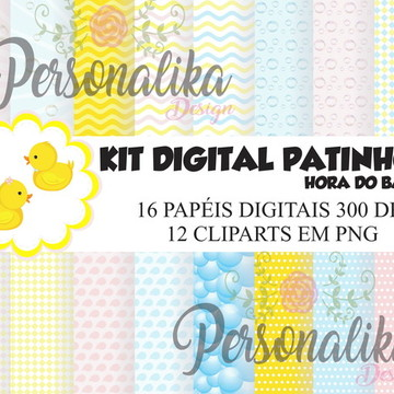 KIT DIGITAL PATINHOS (HORA DO BANHO)