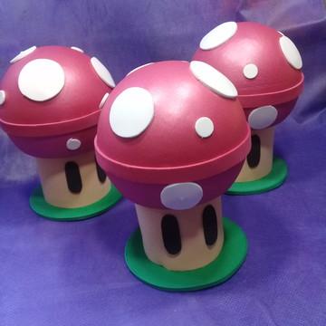 Cogumelos Vermelhos - Super Mario