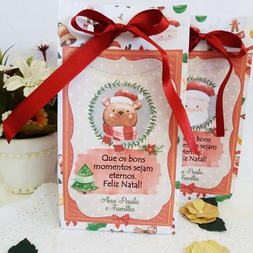 Natal Sacolinha Embalagem Papai Noel