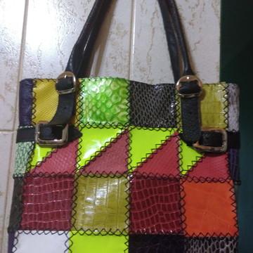 c1d78129c5 bolsa maravilha toda colorida