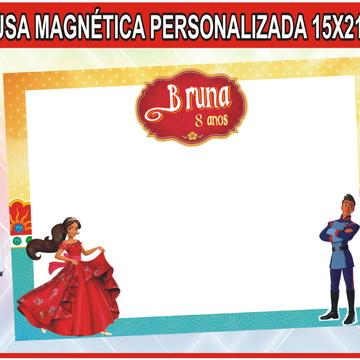 55 Quadro Personalizado Princesa Elena + BRINDE