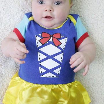 Body de bebê personalizado da Branca de Neve