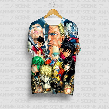 Camiseta - One Punch Man
