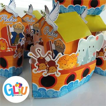 Arca de Noé - Centro de mesa