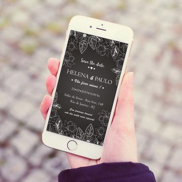 Convite Digital de Noivado para Whatsapp
