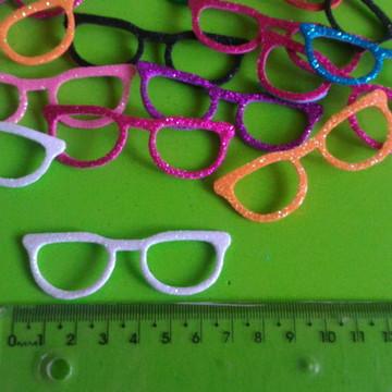 831f54a57 Óculos em EVA com gliter - 10 unidades - cores sortidas