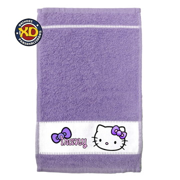 Toalhinha Personalizada Hello Kitty