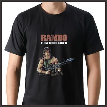 Camiseta Filme Rambo 2