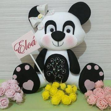 Ursinha Panda com Nome