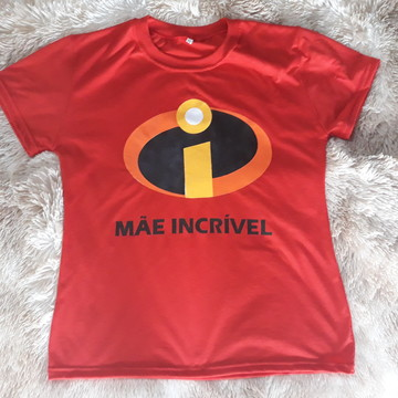Camiseta MAE INCRIVEL