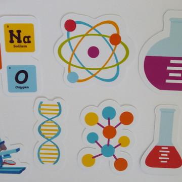 100 apliques Cientista/Ciências