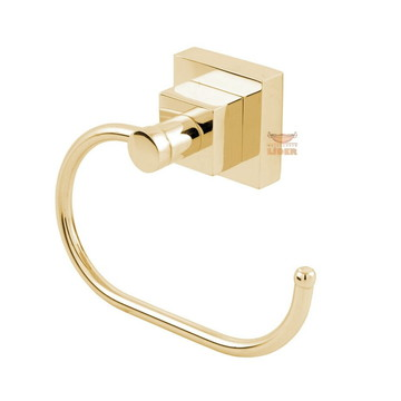 Porta Papel Higiênico Luxo Dourado