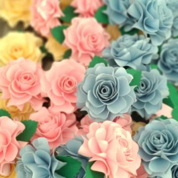 flor de papel (unidade)