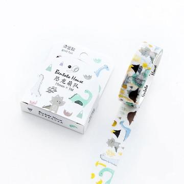 Washi Tape - Dinossauros com Foil
