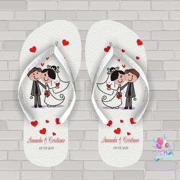 chinelo casamento