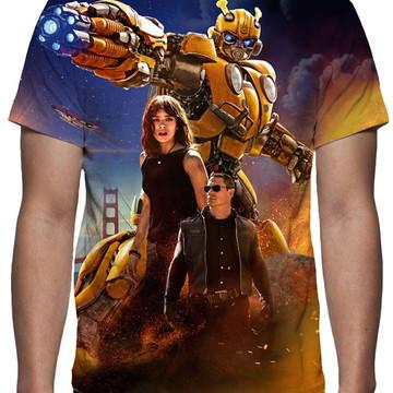 Camiseta - Filme Bumblebee - Estampa Total