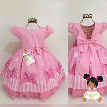 Vestido Minnie luxo