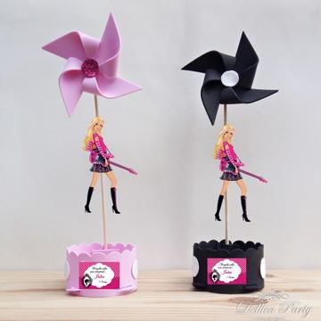 Centro de mesa Barbie Rock